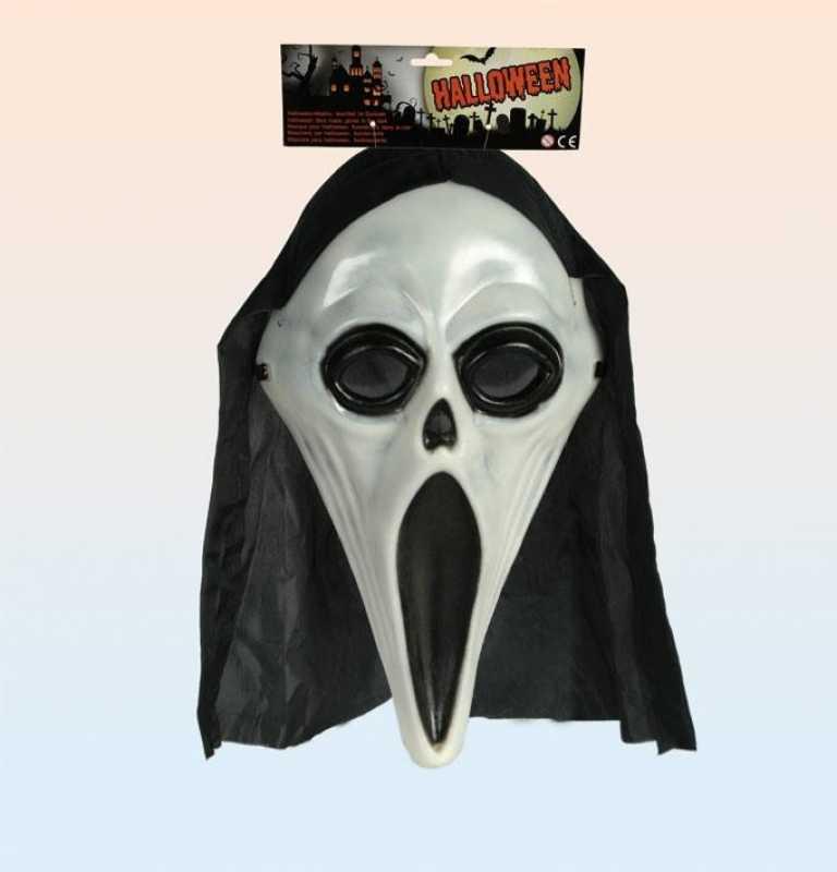 halloweenmaske leuchtet im dunkeln partybedarf und. Black Bedroom Furniture Sets. Home Design Ideas