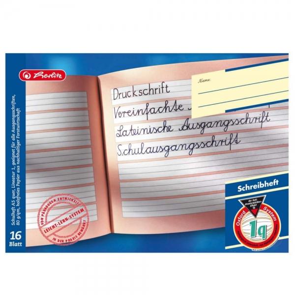 Schulhefte DIN A5-16 Blatt 10 Stück zur Auswahl